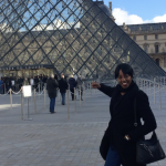 Lena and the Louvre
