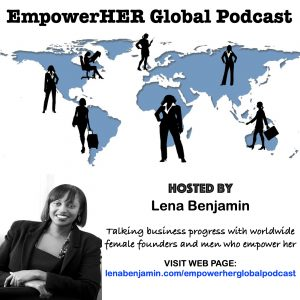 NEW EmpowerHER Global Podcast Arwork